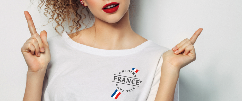 Surfez sur la vague Made In France avec nos T-Shirts certifiés Français !